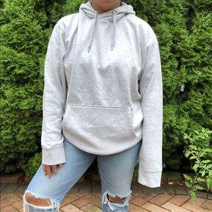 American eagle gray hoodie